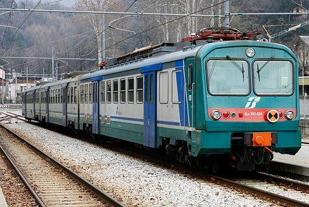 Un treno (Foto d'archivio)