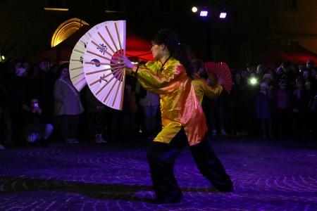 """Una dimostrazione di tai chi hua della scuola di arti marziali """"Giuseppe Giosuè"""""""