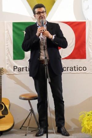 Paolo Micozzi, segretario del Pd di Macerata