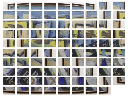 """La sequenza di 89 scatti che compongono """"Natura morta""""di Ardengo Soffici"""