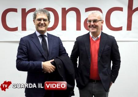 IL FACCIA A FACCIA tra Carancini e Mandrelli (clicca sull'immagine per guardare il video)