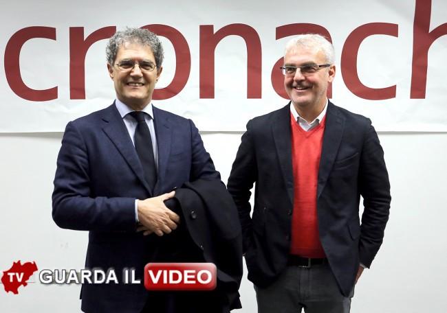 IL PRIMO FACCIA A FACCIA tra Carancini e Mandrelli (clicca sull'immagine per guardare il video)