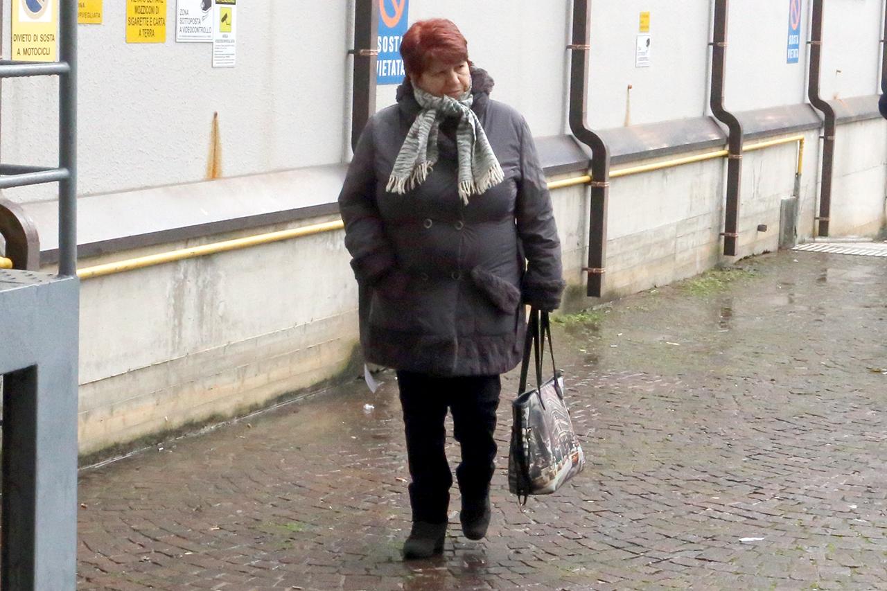 Maria Anzaldi questa mattina in tribunale