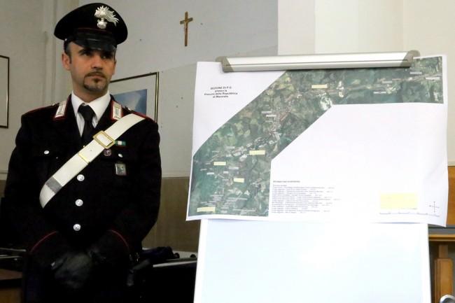 La mappa del delitto Sarchiè