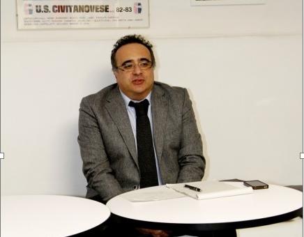 Luciano Patitucci, presidente della Civitanovese