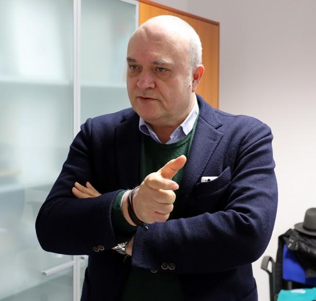 Pierluigi Gigliucci, direttore dell'Area vasta 3