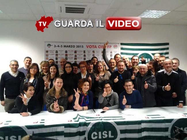 Cisl presenta la sua squadra per il rinnovo delle rsu della Sanità