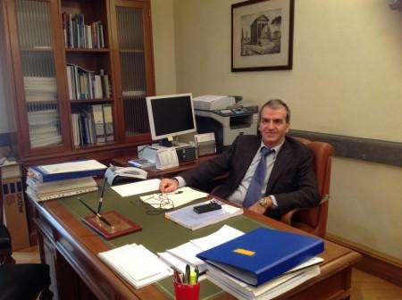 Il senatore del Pd Mario Morgoni