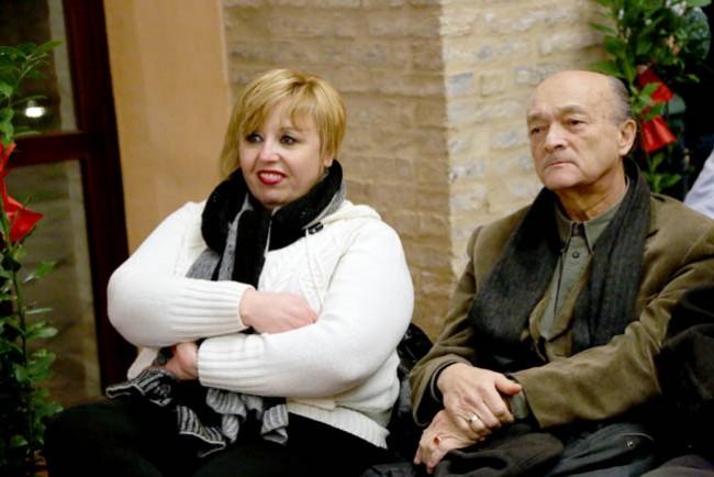 La segretaria provinciale Teresa Lambertucci e Graziano Pambianchi