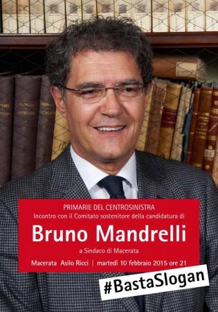 #BastaSlogan, questa la scelta di Bruno Mandrelli