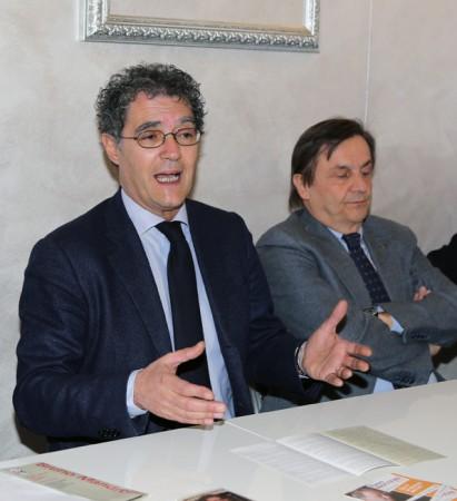 Bruno Mandrelli e il dottor Gabriele Maolo