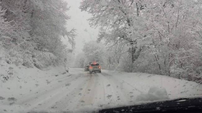 La neve a Frontignano