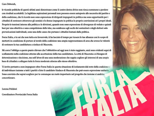 La lettera aperta di Lorena Polidori