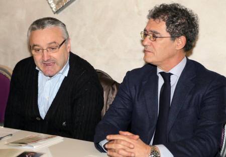 Angelo Sciapichetti e Bruno Mandrelli