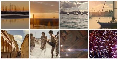 Alcune delle immagini estrapolate dal video Wondeful life del regista civitanovese Paolo Doppieri