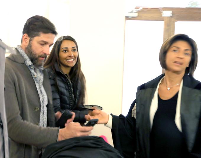 Moreia e Scoppa in aula con il pm Francesca D'Arienzo