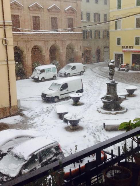 Neve a Camerino - foto di Andrea Pistolesi