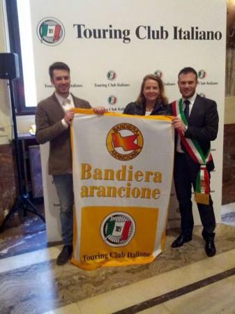 Roberto Lucarelli, leo Marucci, Donatella Pazzelli Camerino Touring Club
