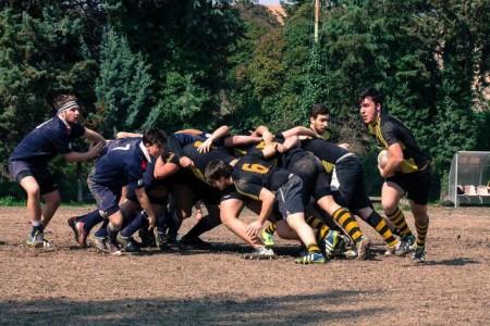 La formazione under 18 degli Amatori Rugby Macerata