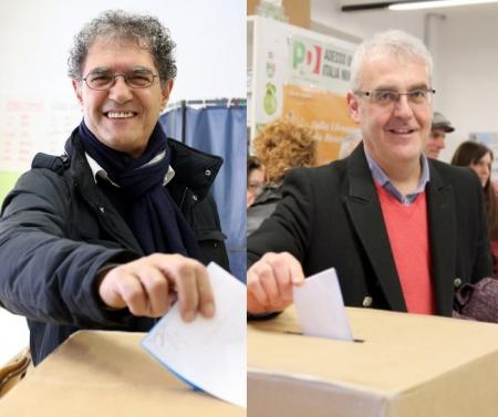 I BALLOTTANTI - Bruno Mandrelli e Romano Carancini oggi al voto