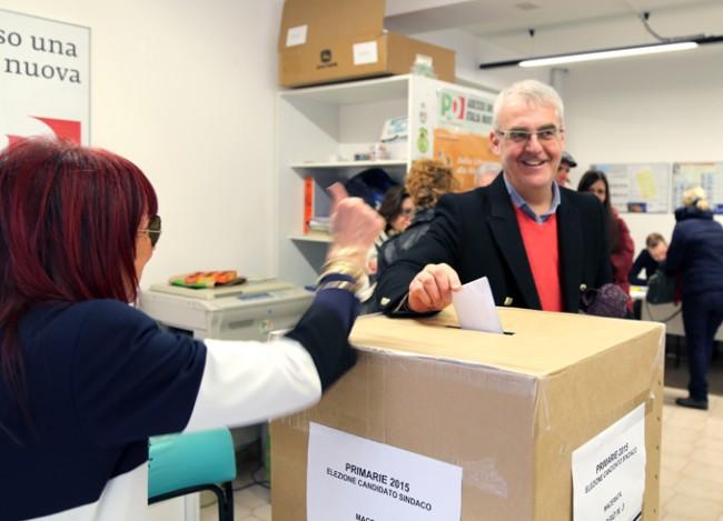 Romano Carancini ha votato alle 12 nel seggio di via Spalato