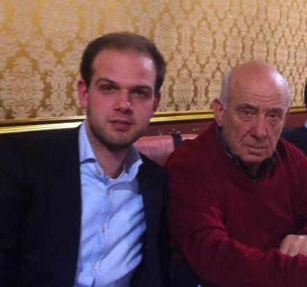 I due consiglieri tolentinati di Fdi - An, Francesco Pio Colosi e Franco Feliziani