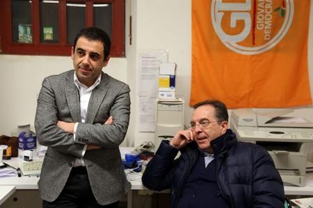 Francesco Comi e Renato Perticarari