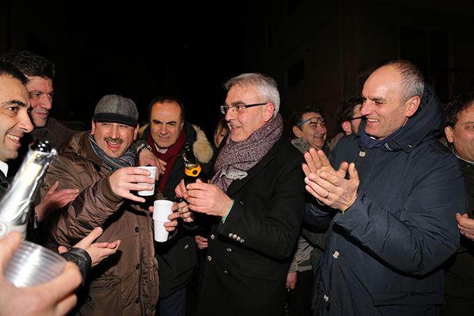 LA FESTA  - Narciso Ricotta, Massimo Lanzavecchia, Romano Carancini e Romeo Renis