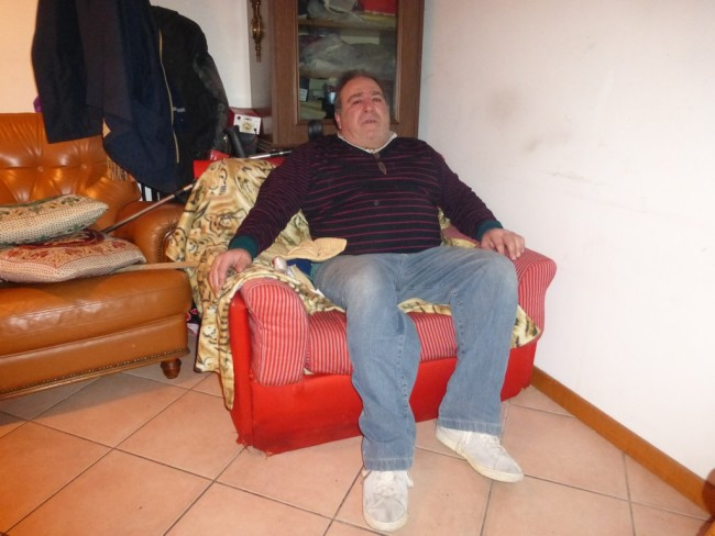 Giuliano Canullo, il 63enne che ha subito il furto dell'auto