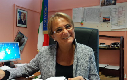 Mara Amico, preside dell'istituto comprensivo Lucatelli