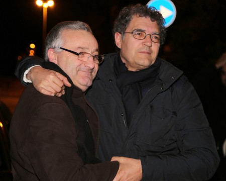 Angelo Sciapichetti con Bruno Mandrelli
