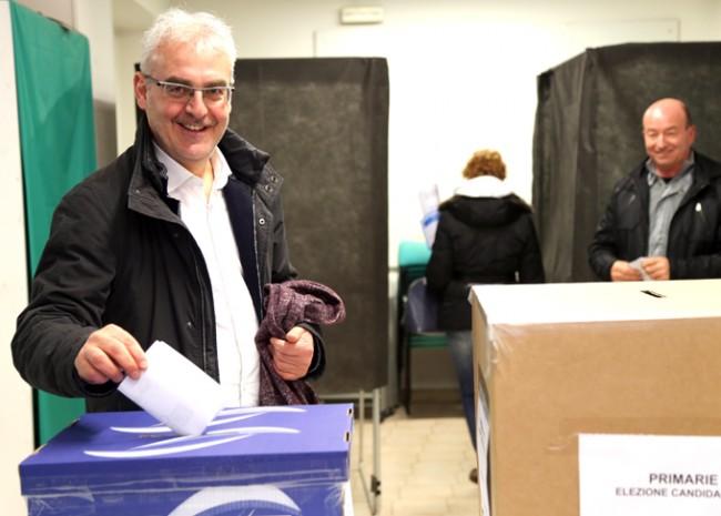 Romano Carancini ha votato alle 15.15 nel seggio di via Spalato