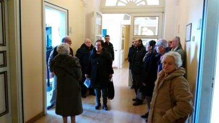 I residenti a colloquio col sindaco Corvatta nell'incontro di un anno fa