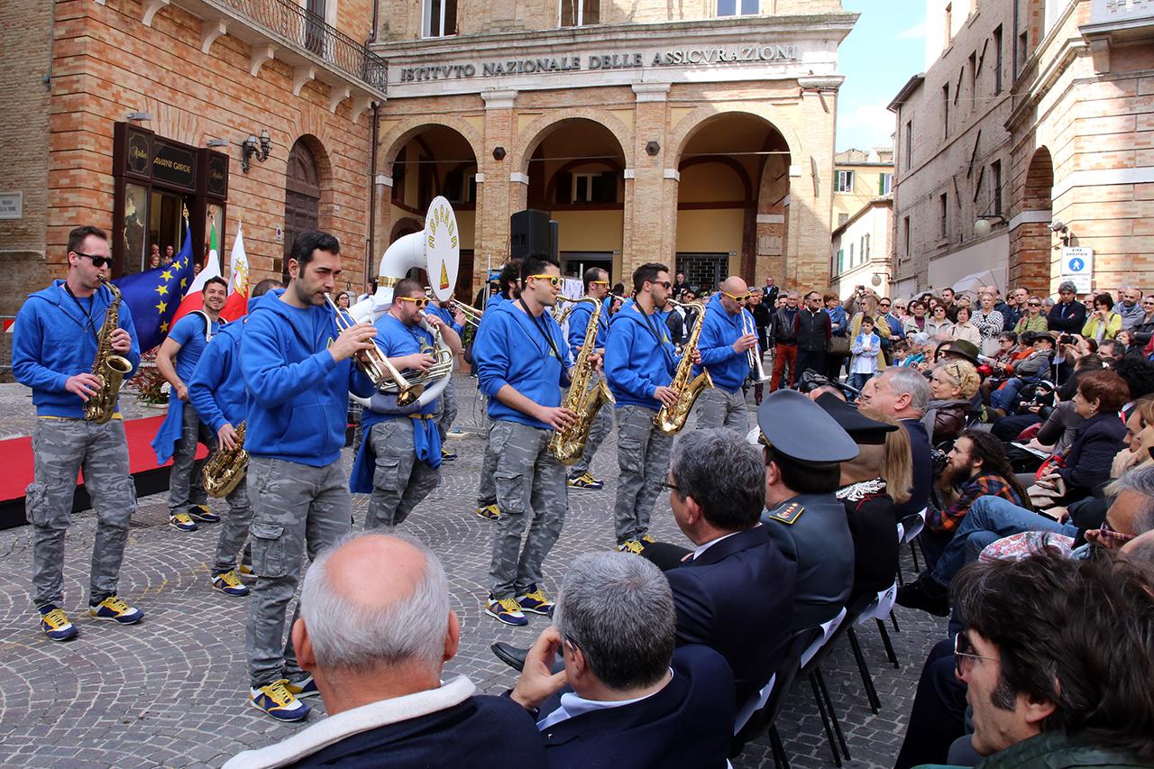 Abbanda inaugurazione orologio planetario Macerata_Foto LB (3)