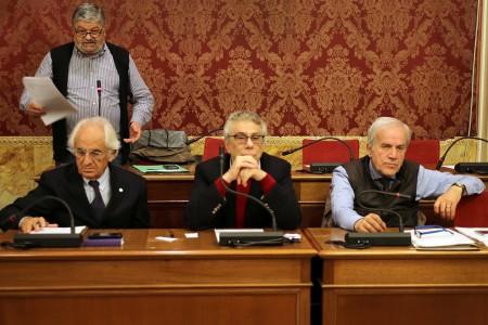 Guido Garufi tra Ivano Tacconi e Giorgio Ballesi