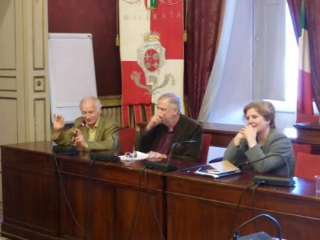 Foto Conferenza libero Paci con Maurizio di Marco Ribechi (3)