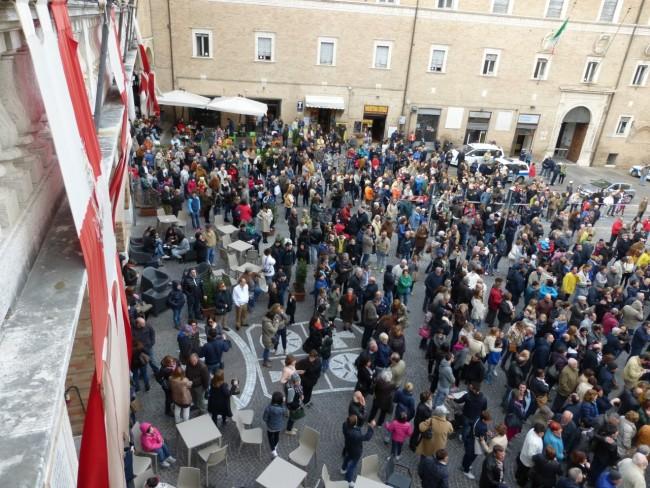 Inaugurazione orologio fusione campana foto di Marco Ribechi (3)