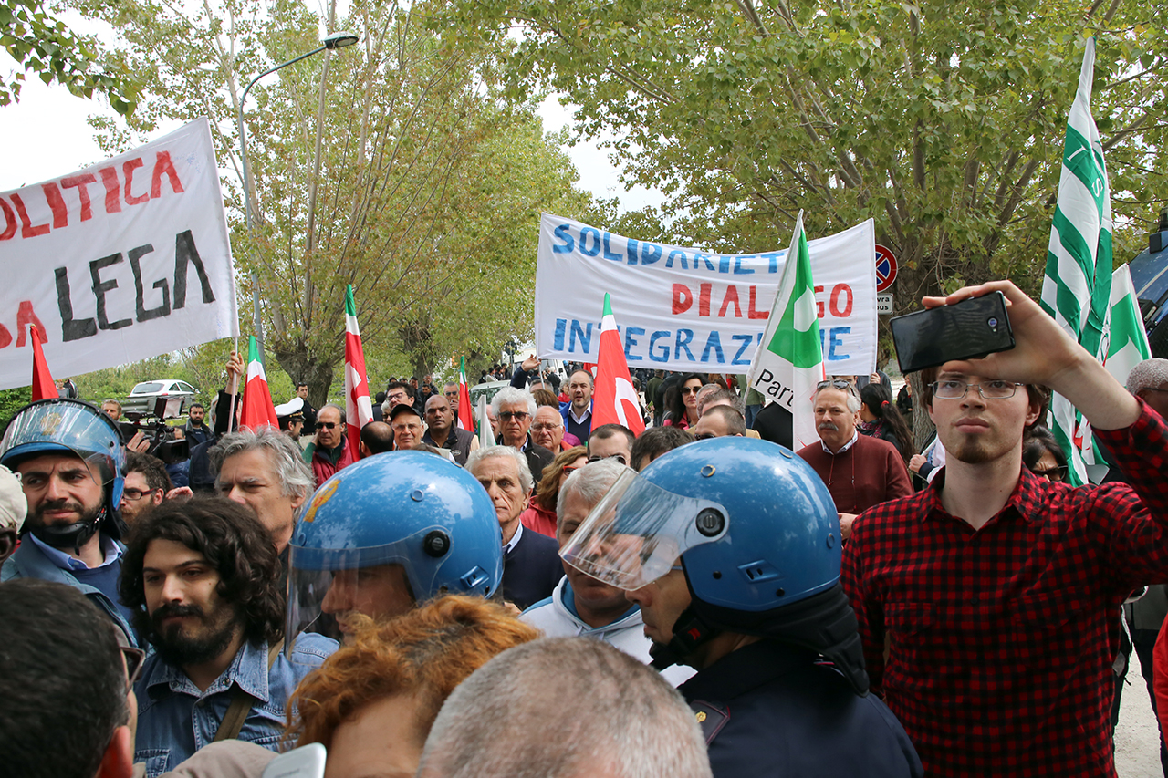 Matteo Salvini Hotel HOuse Porto Recanati _Foto LB (1)