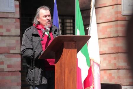 Lorenzo Marconi dell'Anpi Macerata