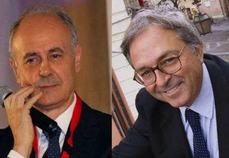 Remigio Ceroni e Gian Mario Spacca, ex nemici politici