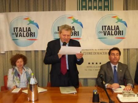 Giuliano Meschini con Ignazio Messina