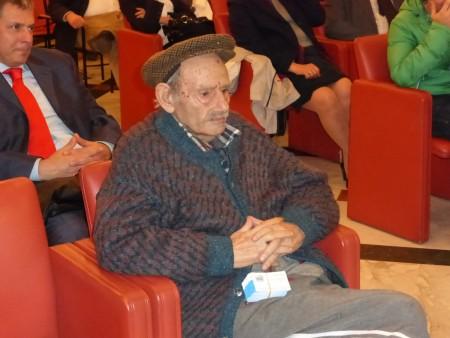Golfredo Cerquetella, 84 anni, è il veterano della lista Idv