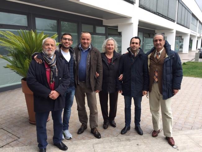 Gino Ramaccioni, Elia Ricotta, Paolo Serini, Anna Capitani, Mattia Orioli e Mario Copponi
