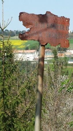 La scuola agraria vista da Collevario