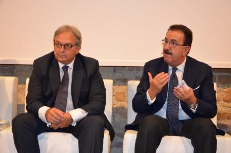 Gian Mario Spacca e Vittoriano Solazzi