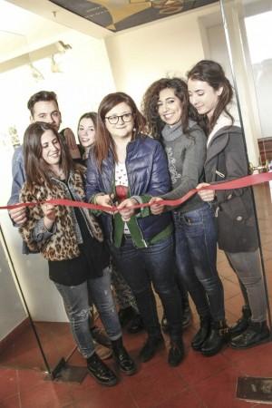 16____inaugurazione mostra studenti_ vicesindaco Macerata Federica Curzi