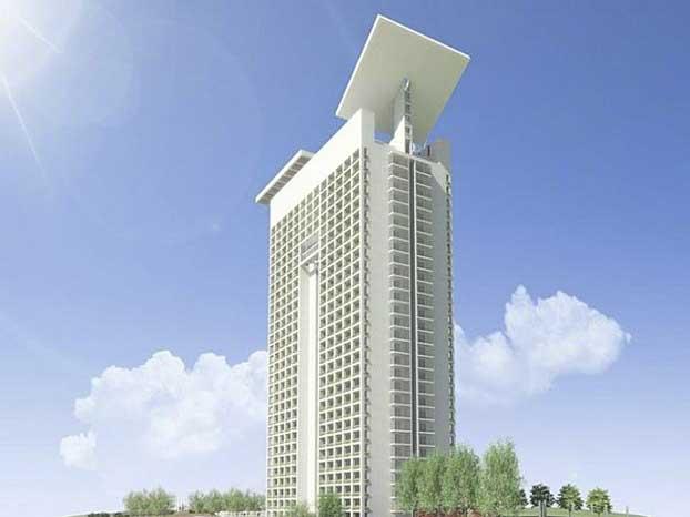 22____Arch Franco Purini Eurosky-Tower_1