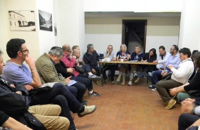 La riunione dei candidati del Movimento 5 Stelle