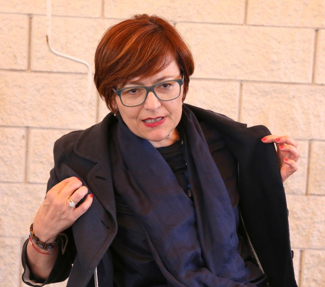 L'ex sindaco Anna Menghi