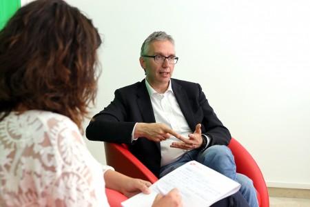 L'intervista a Luca Ceriscioli
